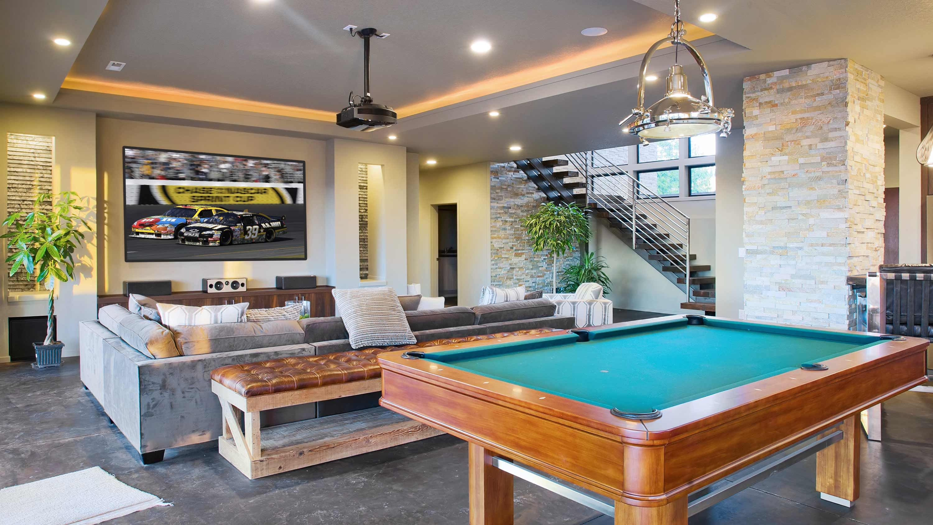 Control4 Dealer Austin, TX, home control, indoor automation, home automation, bar and game room, smart home control4